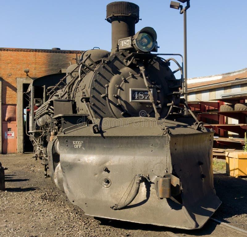 Um motor de vapor aposentado fotos de stock