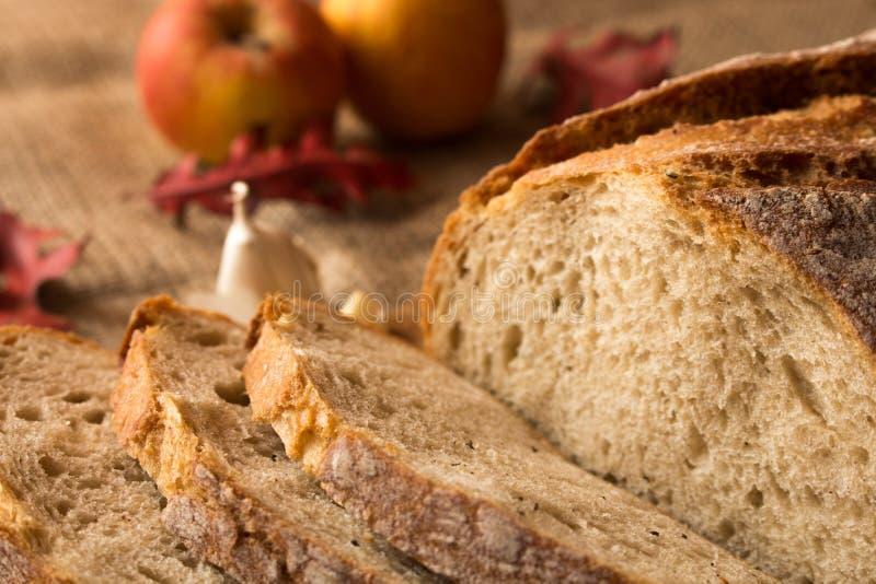 Um naco de pão fresco fotografia de stock