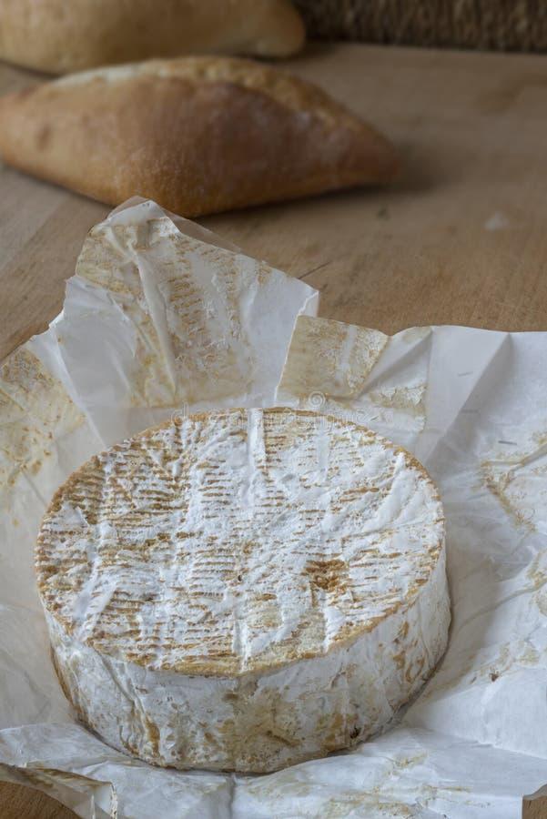 Um naco do camembert imagens de stock