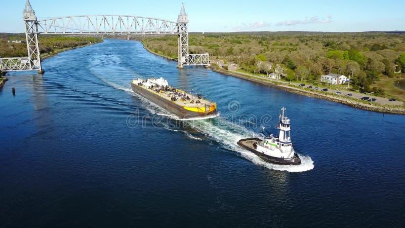Um navio de carga fotografia de stock royalty free