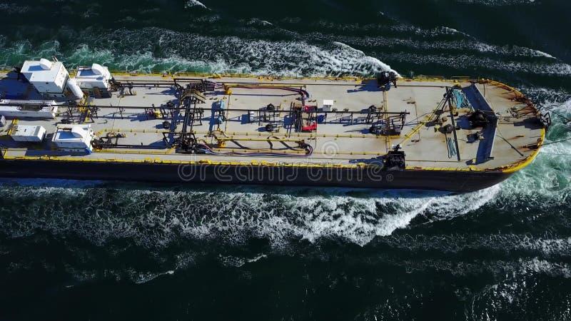 Um navio de carga fotos de stock royalty free
