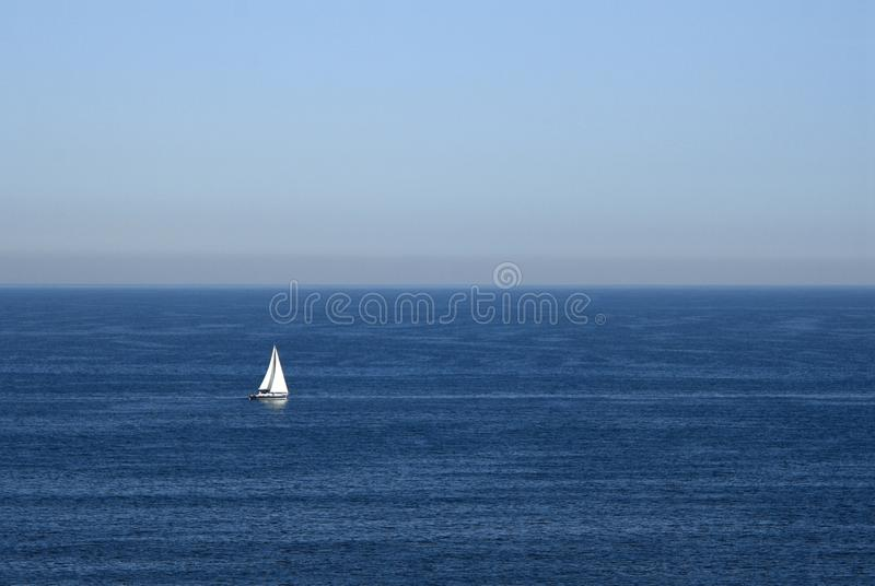 Um no oceano foto de stock royalty free