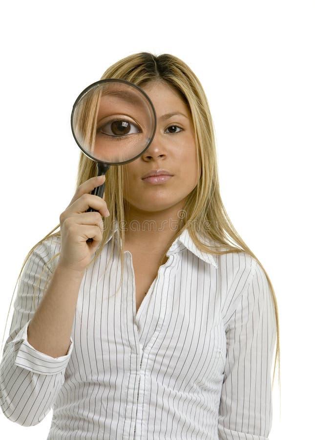 Um olho grande imagem de stock