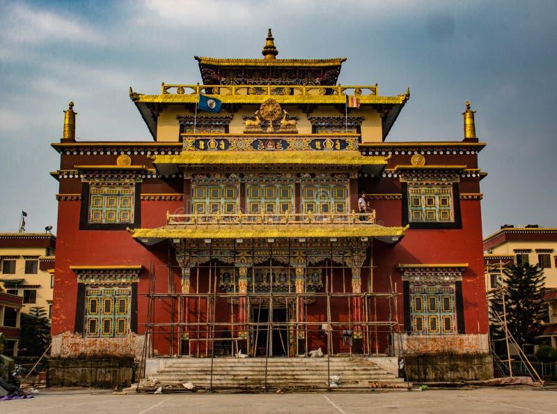 Um Orphange budista em Kathmandu fotografia de stock royalty free
