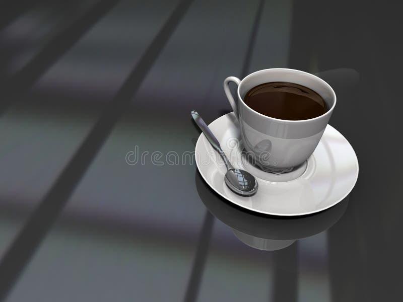 Um outro copo de café ilustração stock
