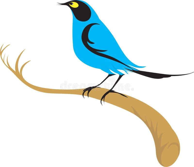 Um pássaro ilustração do vetor