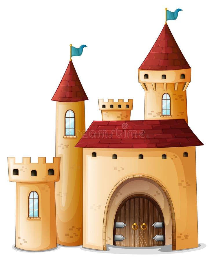 Um palácio bonito ilustração stock