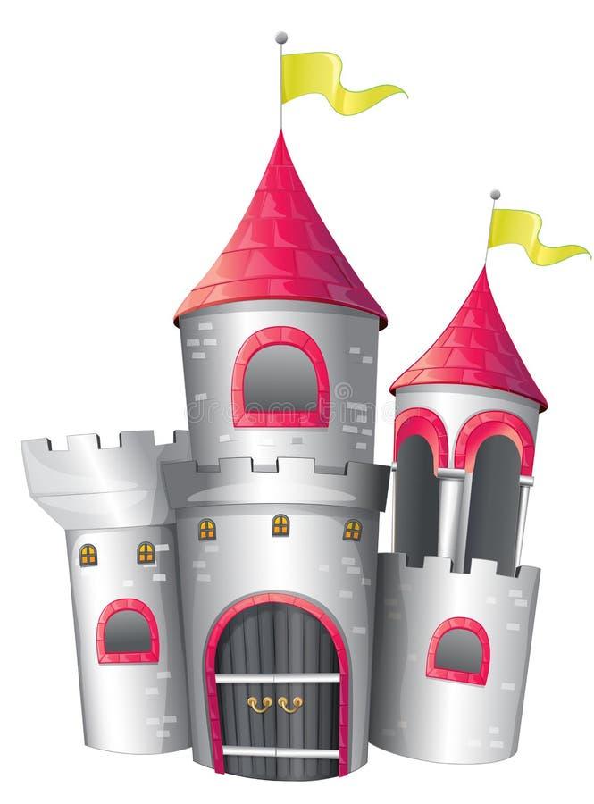 Um palácio grande ilustração do vetor