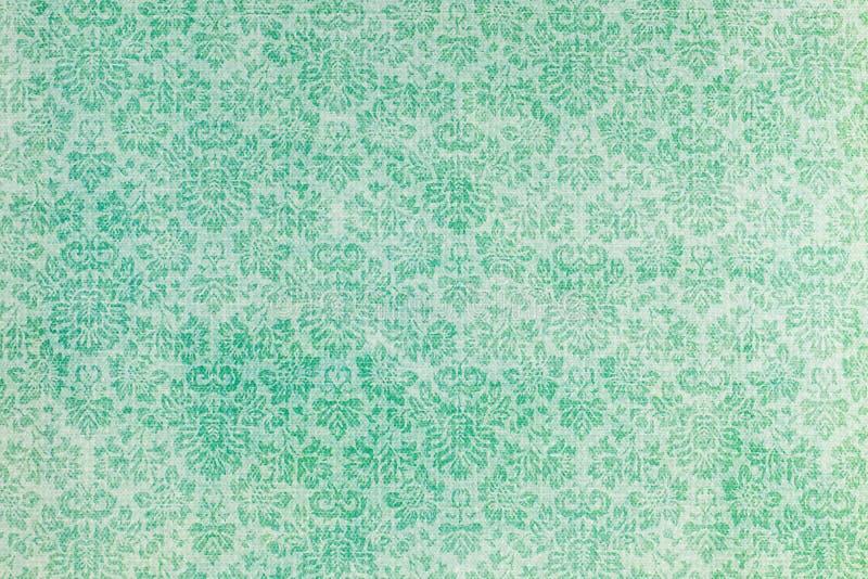 Um papel de parede de um teste padrão botânico da repetição fotos de stock royalty free