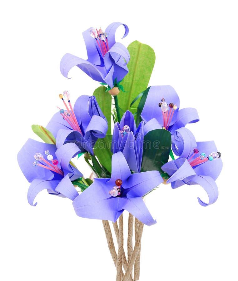 Origami da flor foto de stock royalty free