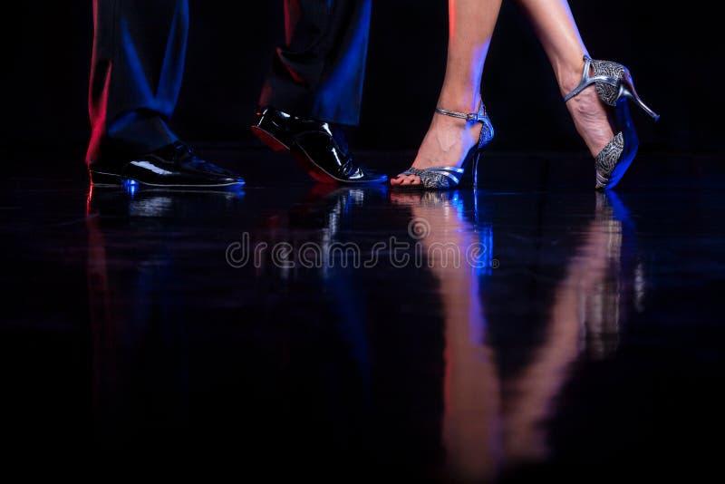 Pés da dança. imagem de stock