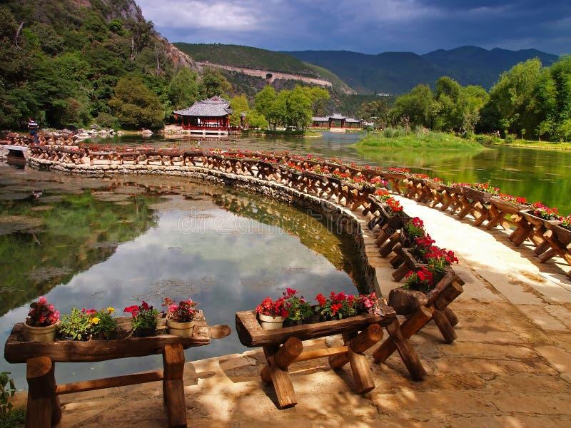 Um parque do cenário em Lijiang China #6 fotos de stock royalty free