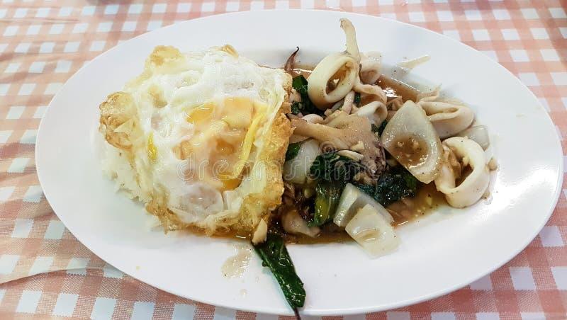 Um prato tailandês saboroso foto de stock royalty free