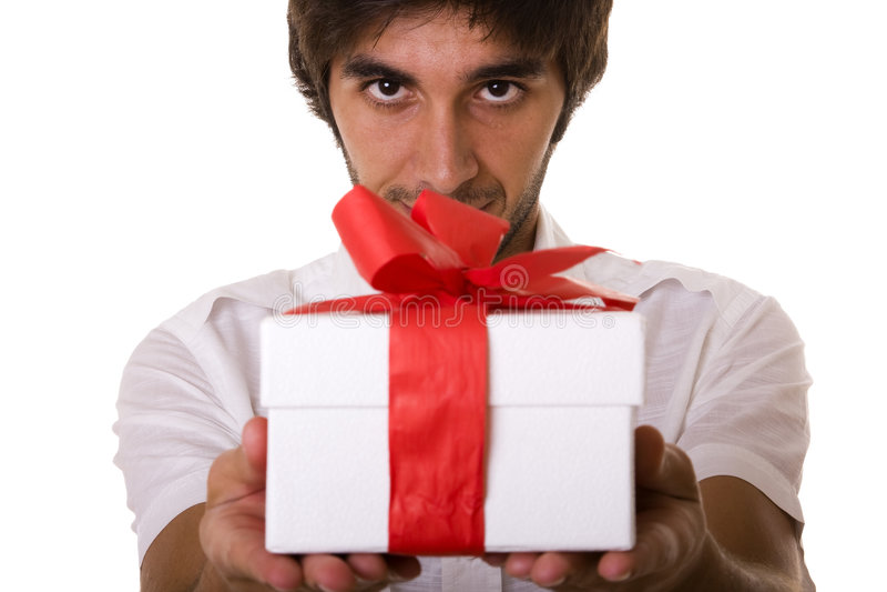 Um presente para você fotos de stock royalty free