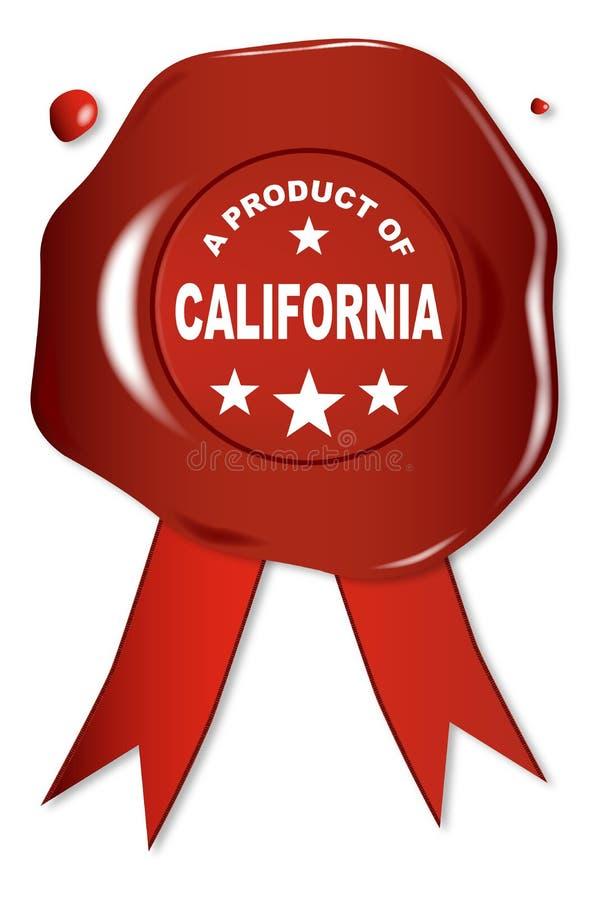 Um produto de Califórnia ilustração royalty free