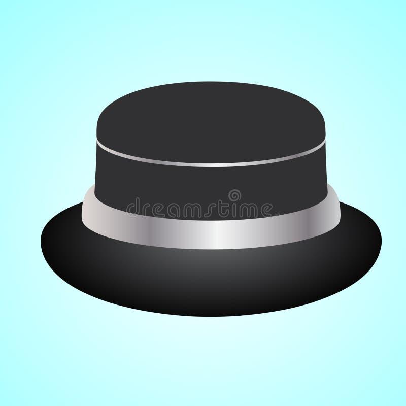 Um projeto do chapéu mágico ilustração do vetor