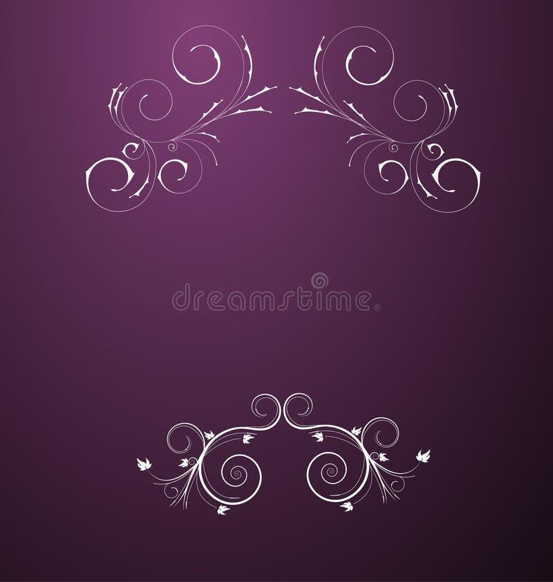 Um projeto floral abstrato beauitful ilustração do vetor