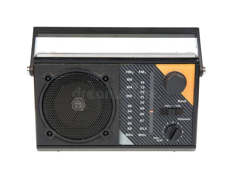 Um rádio velho fotos de stock royalty free