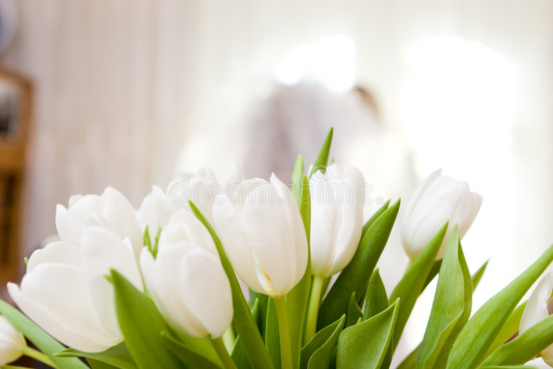 Um ramalhete decorado da flor imagem de stock royalty free