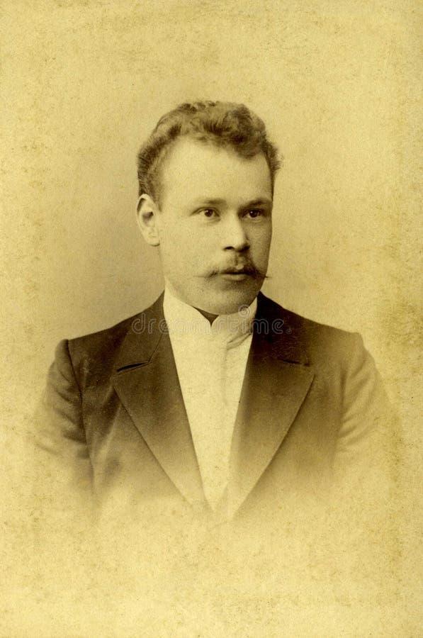 Retrato do vintage imagem de stock royalty free