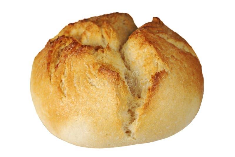 Um rolo de pão duro imagens de stock royalty free