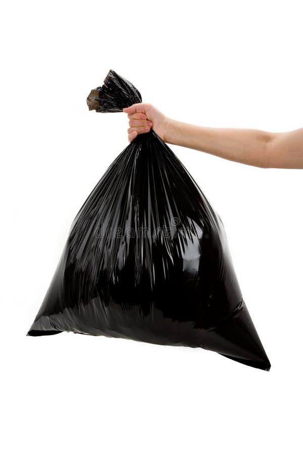 Um saco de lixo fotografia de stock royalty free