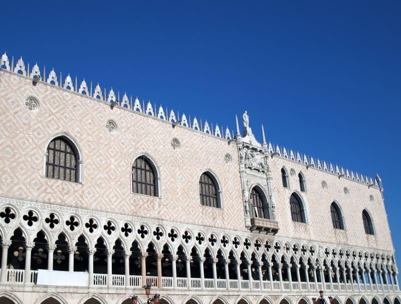 Um San Marco, Venedig stockbilder