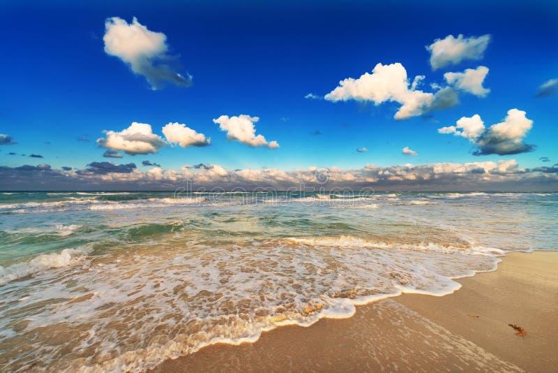 Um Sandy Beach foto de stock