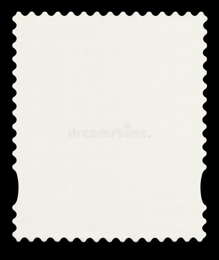 Um selo de porte postal usado inglês da primeira classe. ilustração do vetor