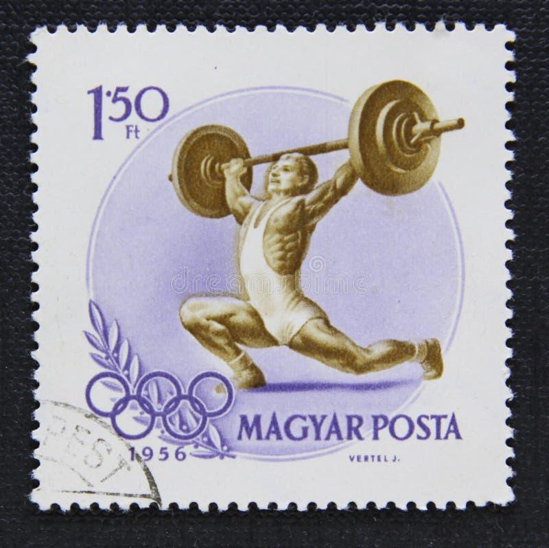 Um selo húngaro fotografia de stock