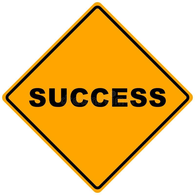 Um sinal do sucesso ilustração royalty free