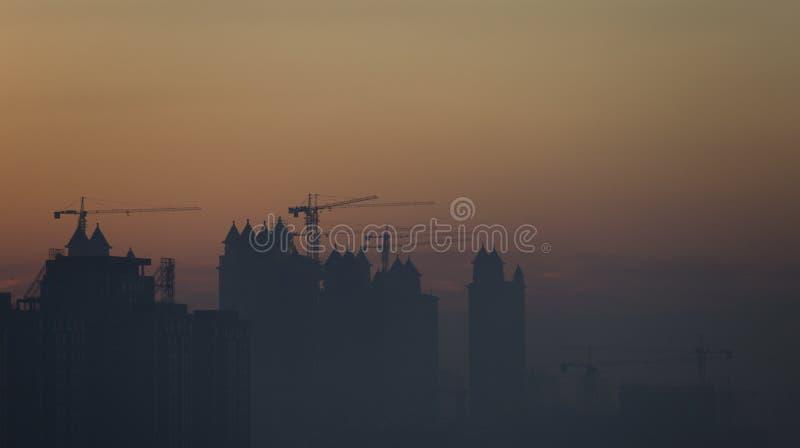 Um sonho de uma cidade fotografia de stock royalty free