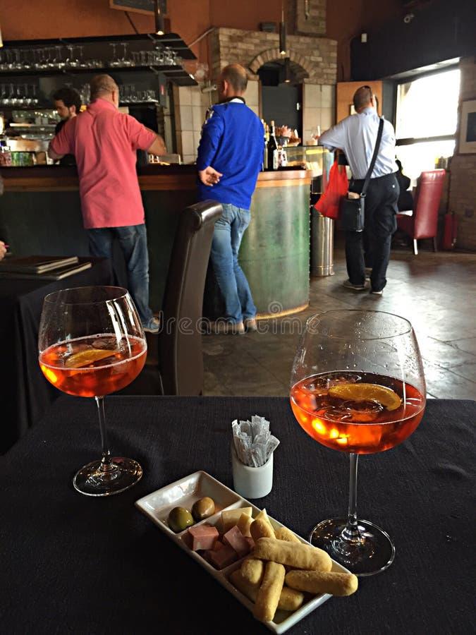 Um spritz em Veneza fotos de stock royalty free