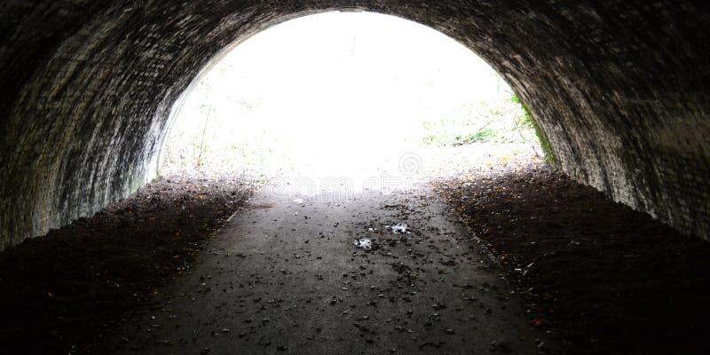 Um túnel encantado imagens de stock royalty free