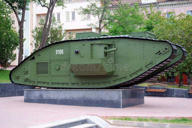 Um tanque britânico da marca V imagem de stock royalty free