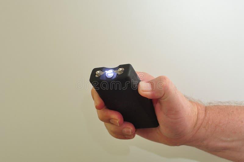 Um taser handheld foto de stock