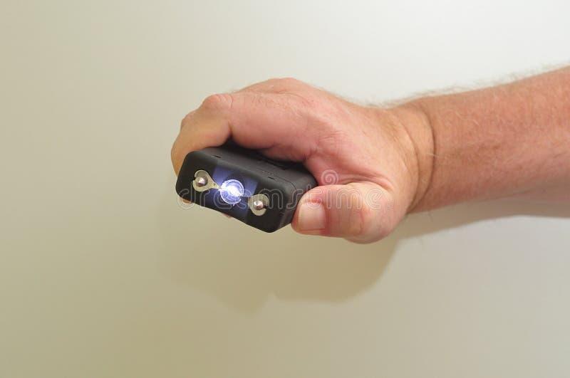 Um taser handheld foto de stock royalty free