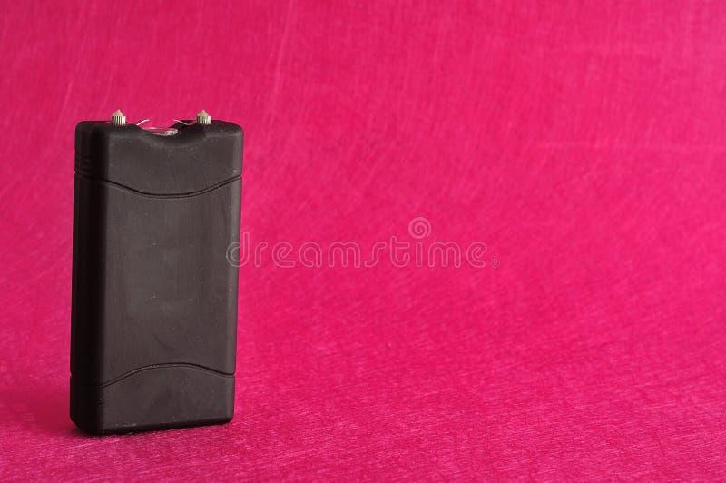 Um taser preto fotografia de stock