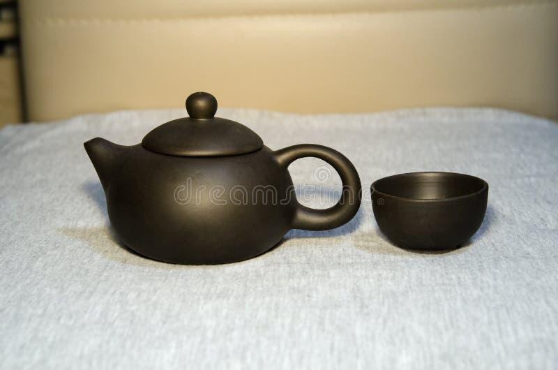 Um teapot fotografia de stock
