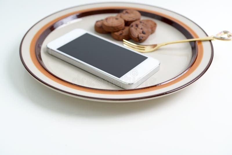 Um telefone esperto fotos de stock