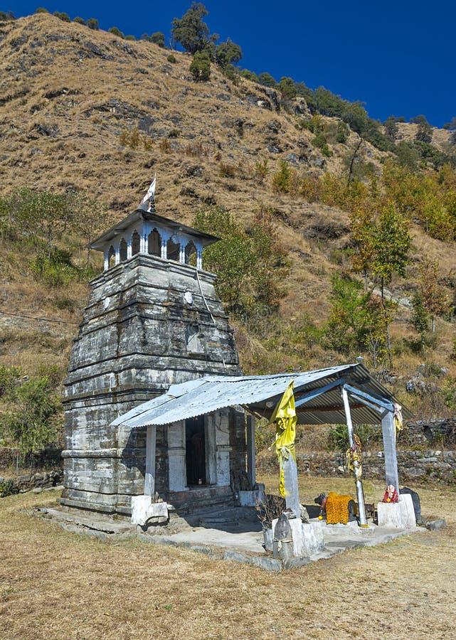 Um templo antigo fotografia de stock