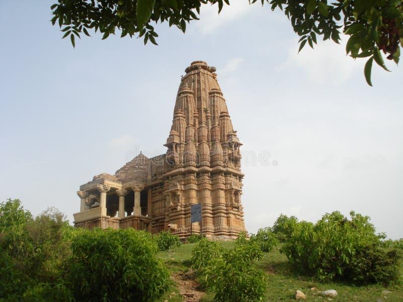 Um templo histórico arruina misterioso assombrado fotografia de stock royalty free