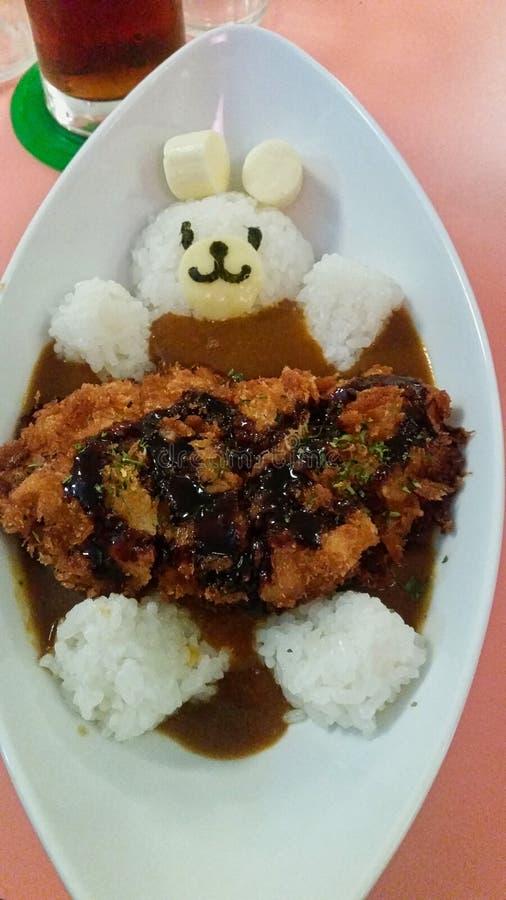 um urso de arroz fotografia de stock