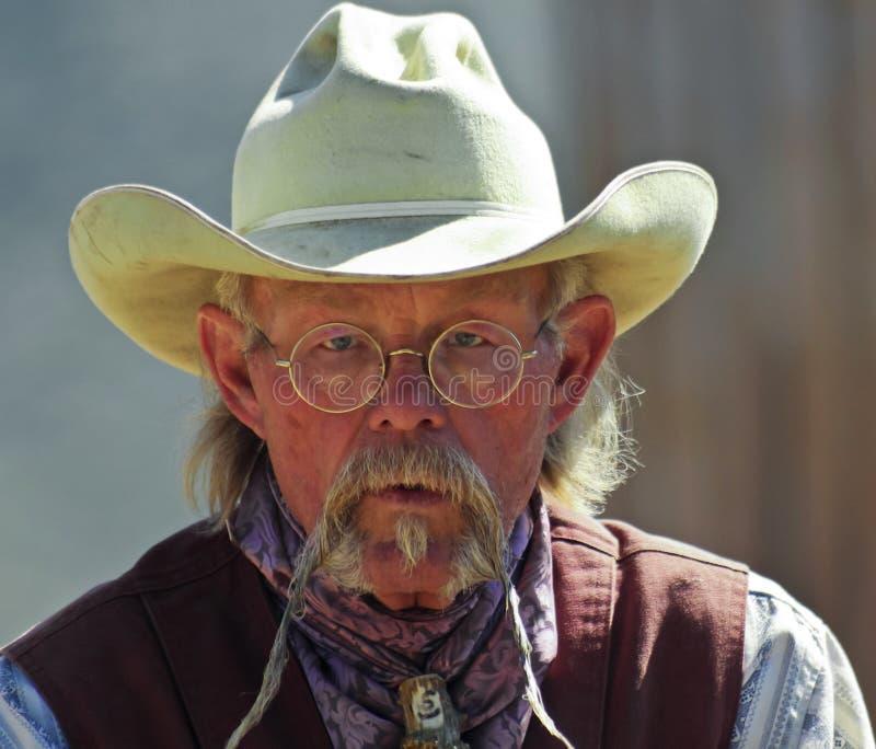 Um vaqueiro de Tucson velho, Tucson, o Arizona imagem de stock