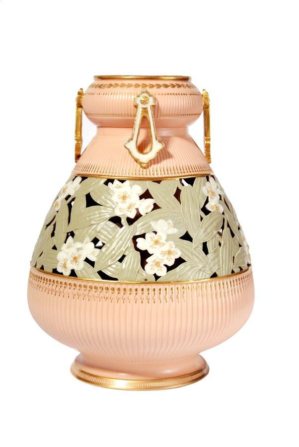 Um vaso antigo do Victorian imagens de stock