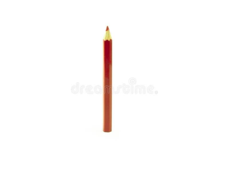 Um vermelho escreve a cor fotografia de stock royalty free