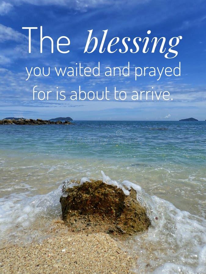 Um verso diário da Bíblia para a palavra do deus para o incentivo, a paz e a cura ao longo de hoje imagem de stock royalty free