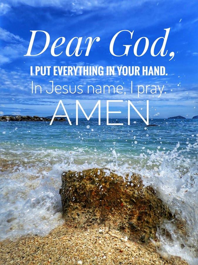Um verso diário da Bíblia para a palavra do deus para o incentivo, a paz e a cura ao longo de hoje foto de stock royalty free