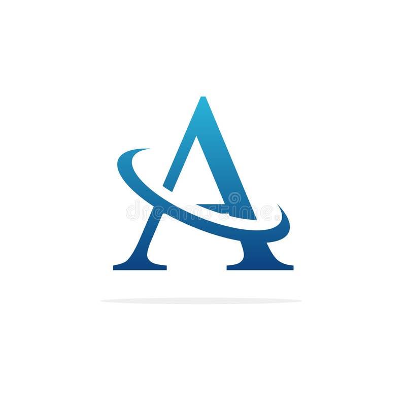 Um vetor criativo do projeto do logotipo ilustração stock