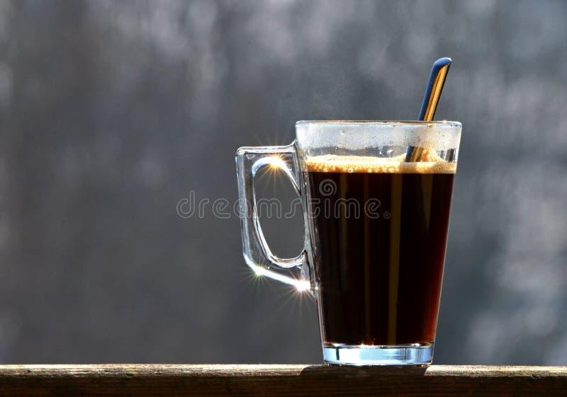 Um vidro do café foto de stock royalty free